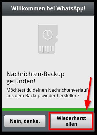 Man gelöschte bei whatsapp nachrichten wiederherstellen kann Gelöschte WhatsApp