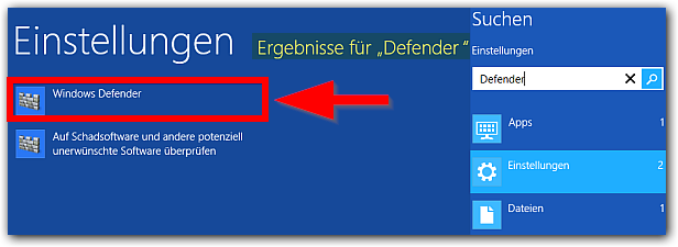 Windows 8: Windows Defender