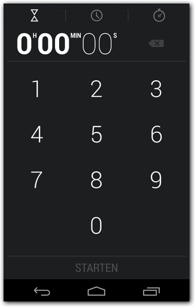 Android 4.2.2 Timer