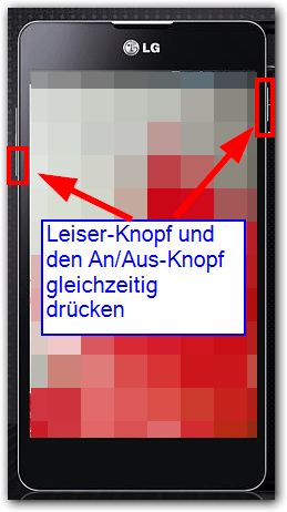 LG G Pro Lite  Screenshots machen --> Tastenkombination