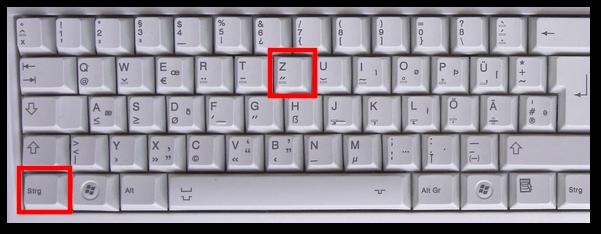 Wie man auf Computer rückgängig macht