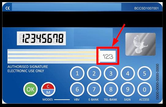 kartenprüfnummer kreditkarte visa