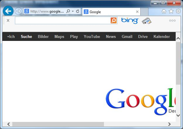 Bing BarToolbar Screenshot