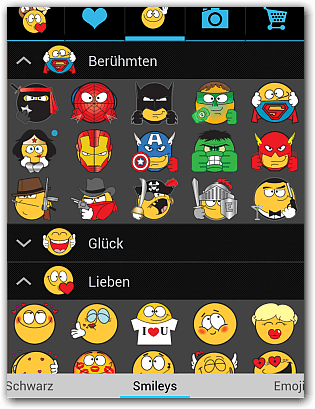Neue Whatsapp Smileys