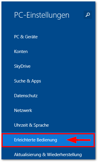 Windows 8.1 8.2 8.3: Erleichterte Bedienung