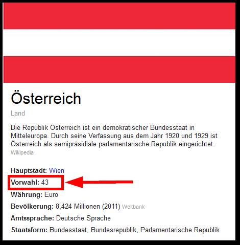 handynummer mit landesvorwahl