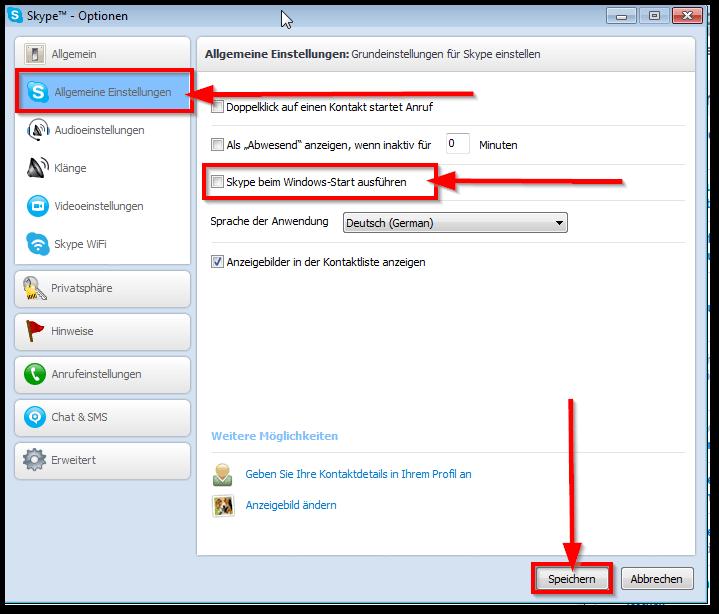 how to add skype account windows 8.1