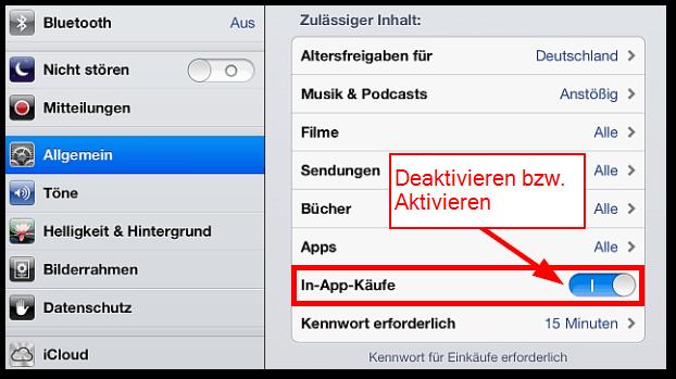 iphone app käufe