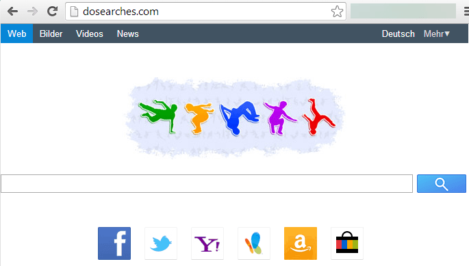 dosearches.com Screenshot von der Webseite
