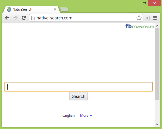 Screenshot von native-search.com