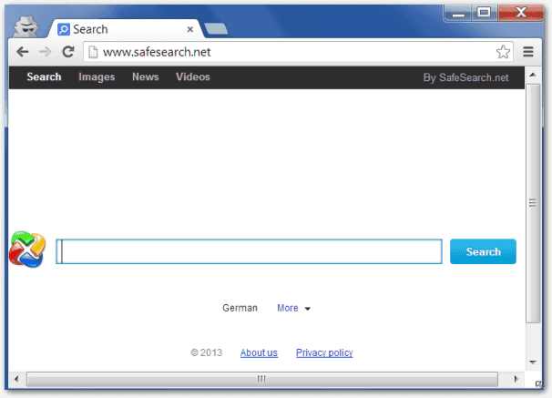 SafeSearch.net Screenshot