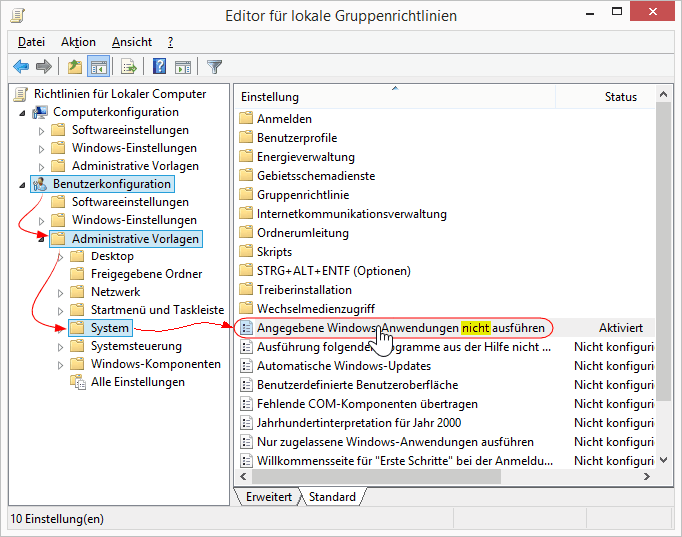 Anleitung: Anwendung kann nicht gestartet werden (gpedit.msc ...