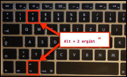 Mac Englische Gansefusschen Auf Deutscher Tastatur Techfrage