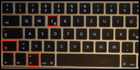 Durchschnittzeichen mit der Tastatur in Word, Excel und Co.