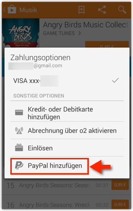 google play store mit paypal bezahlen anleitung techfrage. Black Bedroom Furniture Sets. Home Design Ideas