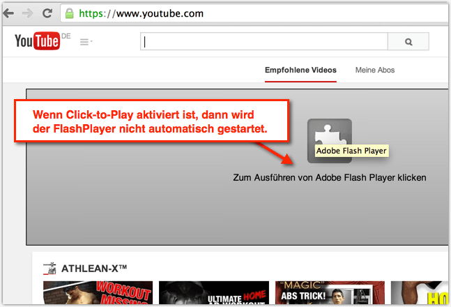 chrome flash player aktivieren