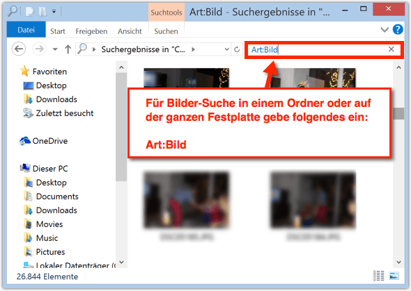 computersuche windows 10