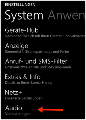 Windows Phone 8.1: Audio