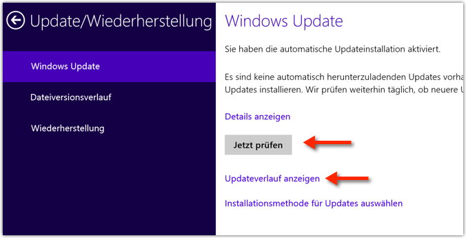 Windows 8.1: Windows Update