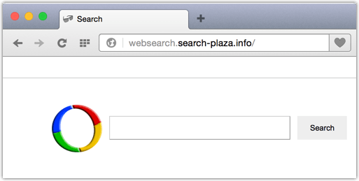 Websearch.search-plaza.info bzw. search-plaza.info