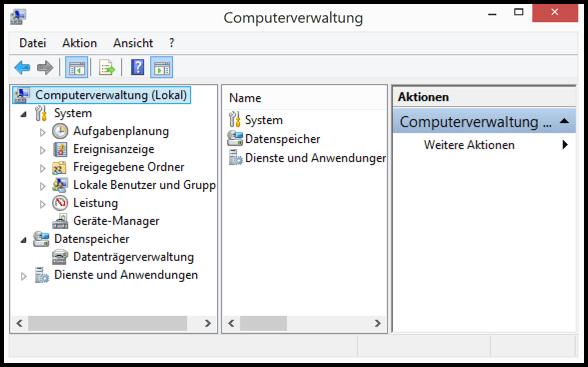 Computerverwaltung