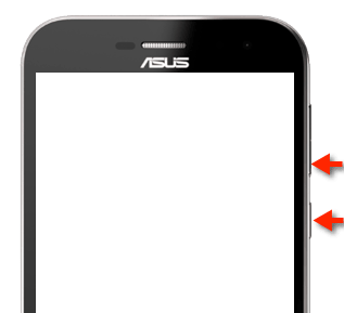 Asus ZenFone Zoom: Screenshot (Hard Copy, Bildschirmfoto) Tasten