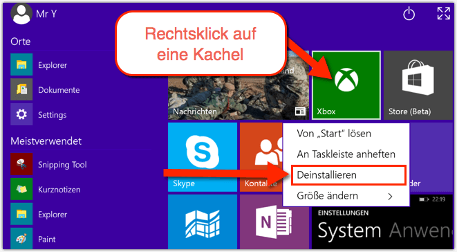programme und funktionen windows 10