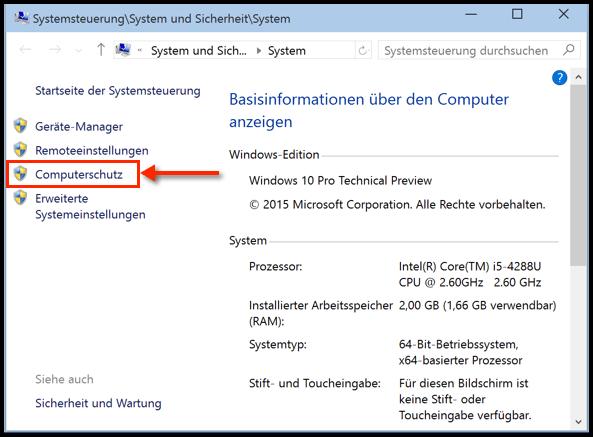 benutzer systemeinstellung sperren windows 10