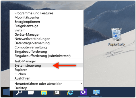größere schrift einstellen windows 10