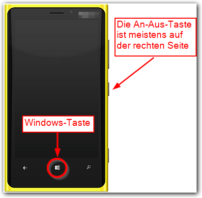 HTC Windows Phone 8S: Screenshots erstellen
